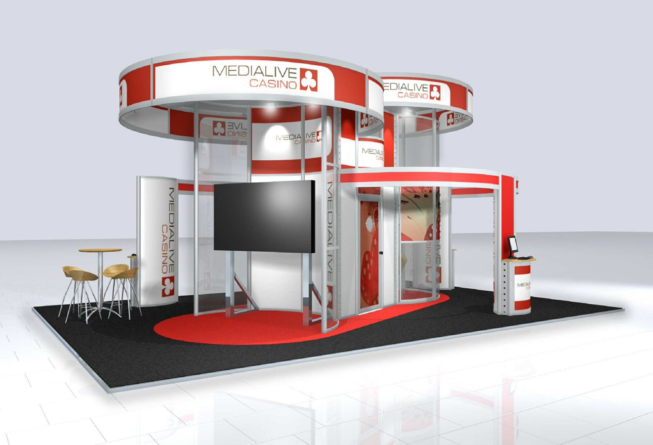 Modular Exhibition Stands Job : Brand exhibitions exhibition display stands graphics