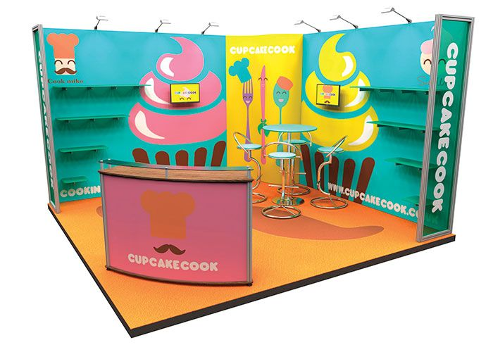 Modular Exhibition Stand Vector : Brand exhibitions exhibition display stands graphics